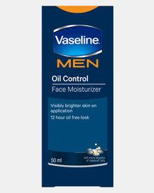 DISC Vaseline Men Face Moisturiser Oil Control 50ml