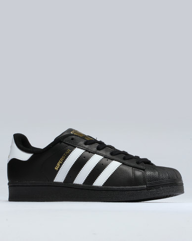 adidas adidas Superstar Foundation with Gold Trimming Black free shipping authentic pk06rrP