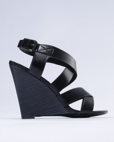 Madison Madison Lizzy Wedge Black free shipping buy free shipping comfortable professional cheap Inexpensive newest online F9wj9tPVb