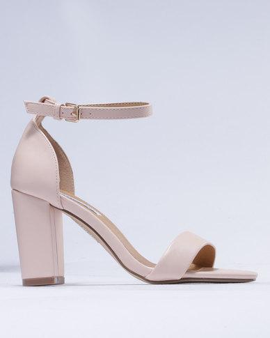 dd2c7a07add Madison Petra Block Heel Sandals Nude
