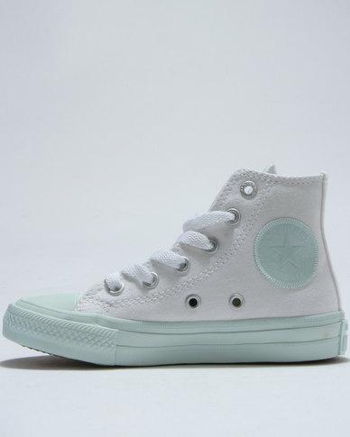 01bd258fca9 Converse Chuck Taylor Pastel Hi Top Sneaker White