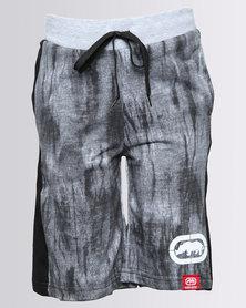 ECKÓ Unltd Boys Fleece Short Grey/Black