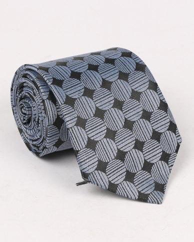 Joy Collectables Mens Formal Tie Grey