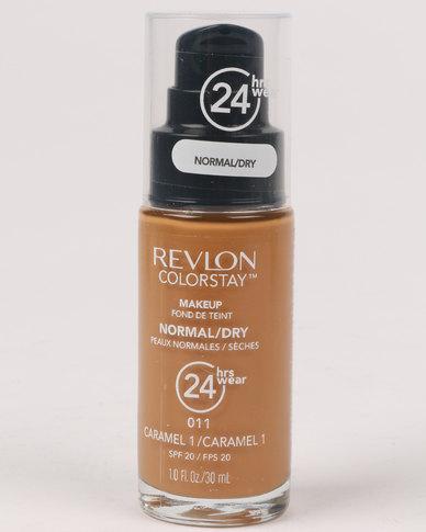Revlon ColourStay Normal/Dry Make Up Pump Caramel 1