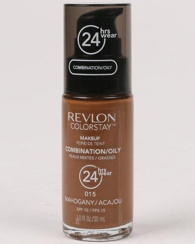 Revlon ColourStay Combo/Oily Make Up Pump Mahogany
