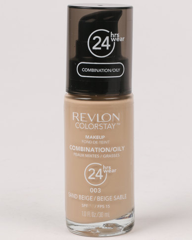 Revlon ColourStay Combo/Oily Make Up Pump Sand Beige