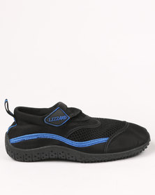 Lizzard Boys Teen Austin Grip Shoe Black