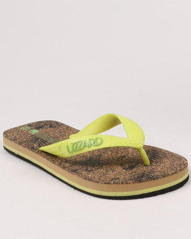 Lizzard Boys Teen Hawaii Flip Flops Multi