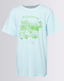 Billabong Boys Combi YO SS Tee Green