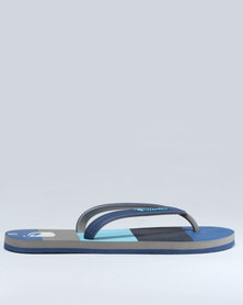 Lizzard Horizon Toe Thong Sandals Blue