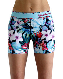Vivolicious Hibiscus Shorties Red Blue