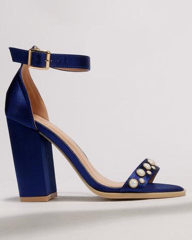 8bd223d5699 Dolce Vita Classic Block Heels Royal Blue