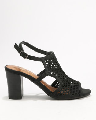 Shoe Art Sophia  Wedges Black/Nubuck