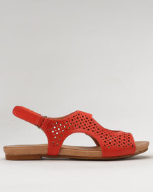 Shoe Art Amalia Sandals Coral