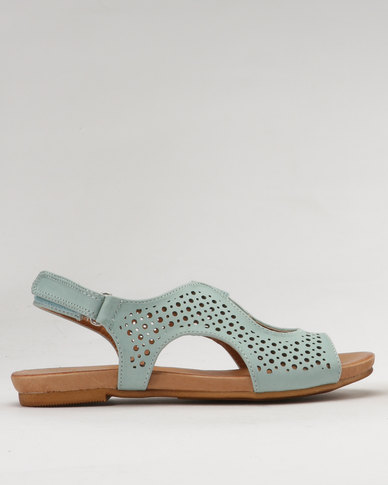 Shoe Art Amalia Sandals Soft Blue