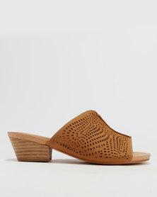 sale nicekicks Shoe Art Shoe Art Heidi Block Heel Mule Black free shipping professional OZmlV