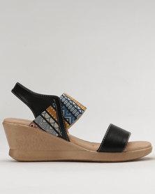 Shoe Art Winna Wedge Black