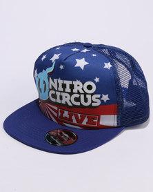 Nitro Circus Royal Trucker Blue