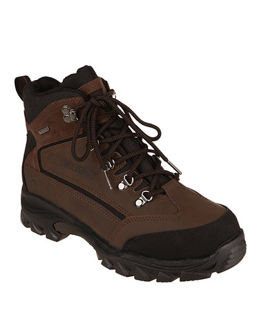 a4c8b1554f1d Wolverine Spencer Waterproof Hiking Boots Brown
