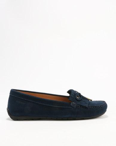 Sebago Sebago Leather Harper Kiltie Tie Casual Shoes Navy buy cheap brand new unisex L6geZO2Q