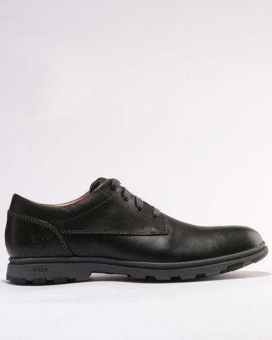 Caterpillar Berwick Leather Casual Shoe Black
