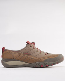 Merrell Mimosa Quinn Lace LTR Shoes Brown
