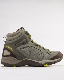 Merrell Siren Sport Q2 Mid GTX Shoes Olive