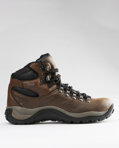 d95cc49eb58 Merrell Reflex 2 Mid Leather Waterproof Brown