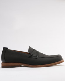 Call It Spring Barrasso Penny Loafers Black