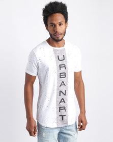 Urban Art Vertical T-Shirt White