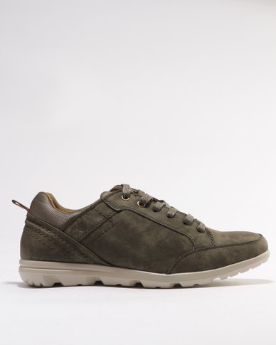 shipping discount authentic Urbanart Urbanart Taito 1 Casual Lace Up Sneakers Olive under 50 dollars UAfjZ38u7K