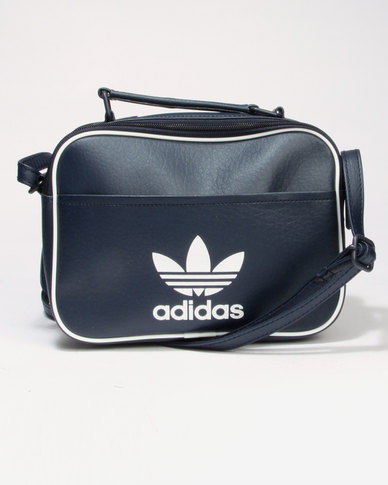 adidas Mini Airliner AC CL Shoulder Bag Navy