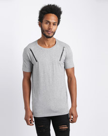 Loyalty & Faith Dario T-Shirt Grey