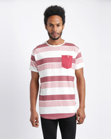 Soul Star T-Shirt Red Stripe