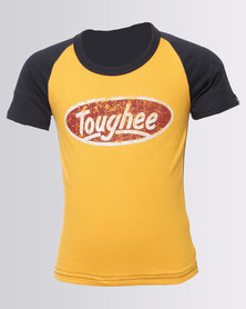 Krag Drag™ - The Strong One™ Toughee Tee Yellow