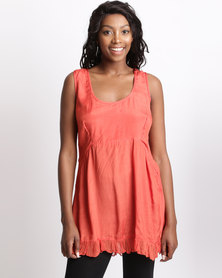 UB Creative Frill Vest Orange