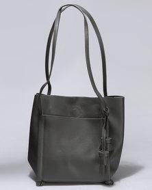 Unseen Geneva Tote Bag Grey