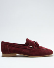 Anton Fabi Severo Formal Slip On Shoe Burgundy
