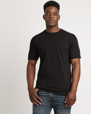 Utopia 100% Cotton T-Shirt Black