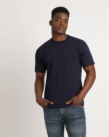 Utopia 100% Cotton T-Shirt Deep Navy