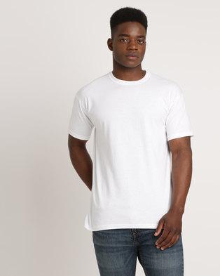 4673e1643098 Utopia 100% Cotton T-Shirt White