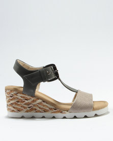 a544437c21f Step On Airs Marlee Wedge Sandal Taupe