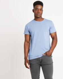 Russell Ultra T-Shirt Blue Marl