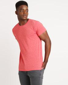 Russell Ultra T-Shirt Red Marl