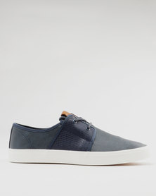 Steve Madden MCool Casual Lace Ups Blue
