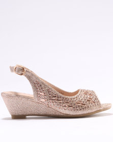 Rock & Co Odile Party Shoes Gold