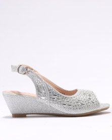 Rock & Co Odile Party Shoes Silver