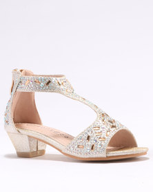 Rock & Co Orla Party Shoes Gold