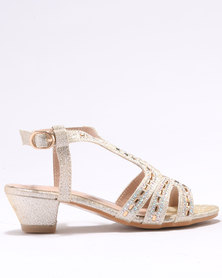 Rock & Co Raisa Glamour Shoes Gold