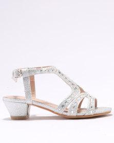 Rock & Co Raisa Glamour Shoes Silver